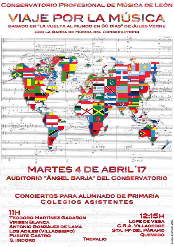 VIAJE POR LA MÚSICA - CONCIERTO PARA ALUMNADO DE PRIMARIA - CONSERVATORIO DE LEÓN 4.4.17