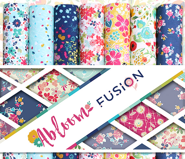 Art Gallery Fabrics Abloom Fusion Collection by AGF Studio