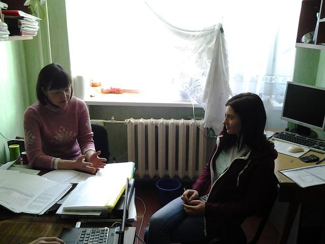 Індивідуальна консультація з ученицею 19 К групи Вермен Т.