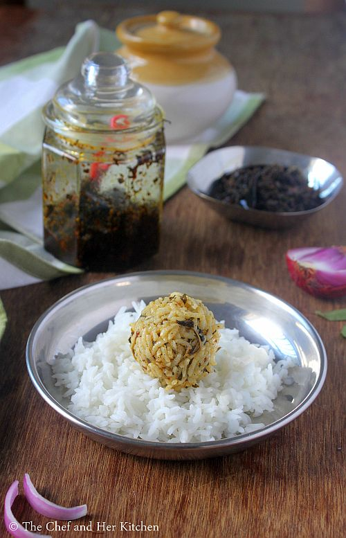 pulihora gongura pickle