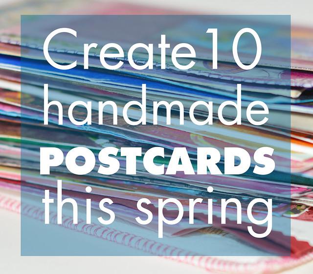 iHanna's DIY Postcard Swap Spring 2017