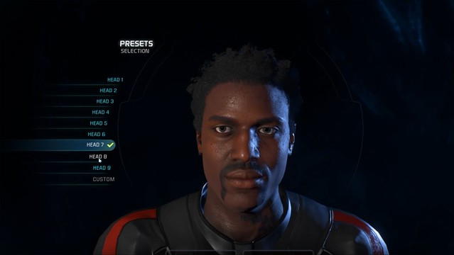 Mass Effect Andromeda - Male Head 7