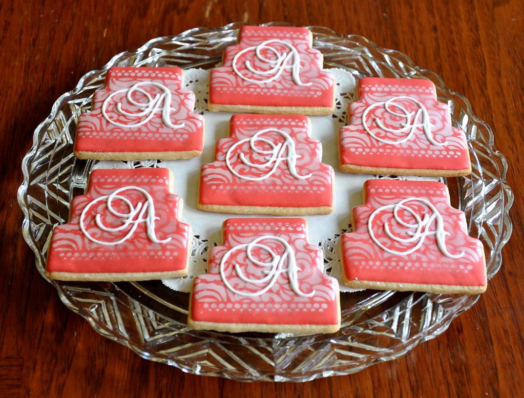 Custom Wedding Cookies   Kelley Hart   Flickr
