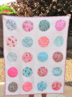 Baby Circle Quilt | by Mama Mel Loves