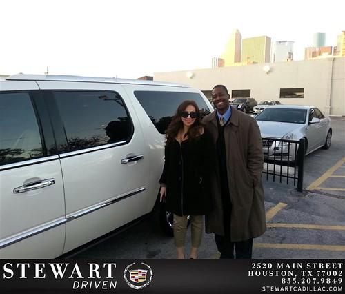 Jones Cadillac: Thank You To Rachel Salazar On Your New 2014 #Cadillac #Es…