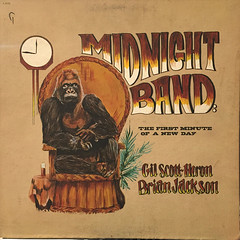 GIL SCOTT-HERON,BRIAN JACKSON AND THE MIDNIGHT BAND:THE FIRST MINUTE OF A NEW DAY(JACKET A)