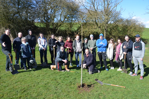 Kingsway Community Orchard planting session Mar 17 (82)