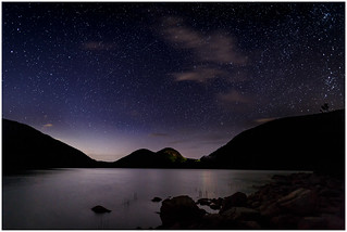 2017 IMAGE of the YEAR-Jordan Pond Starry Night - By Steve Ornberg | by Nature Camera Club