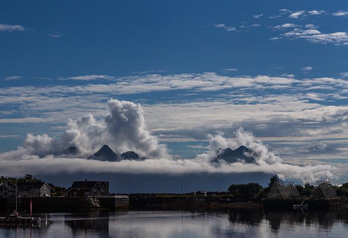 Svolvaer Lofootit Lofoten Norja Norway Norge vuoret_