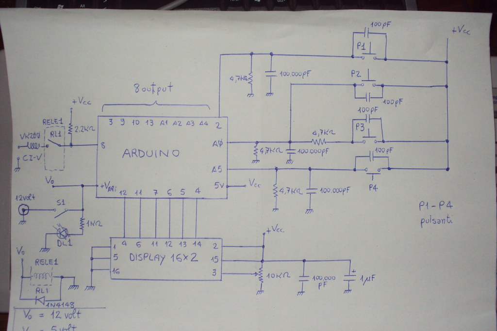 Schema Elettrico : Schema elettrico lo schema elettrico è molto semplice vi u flickr