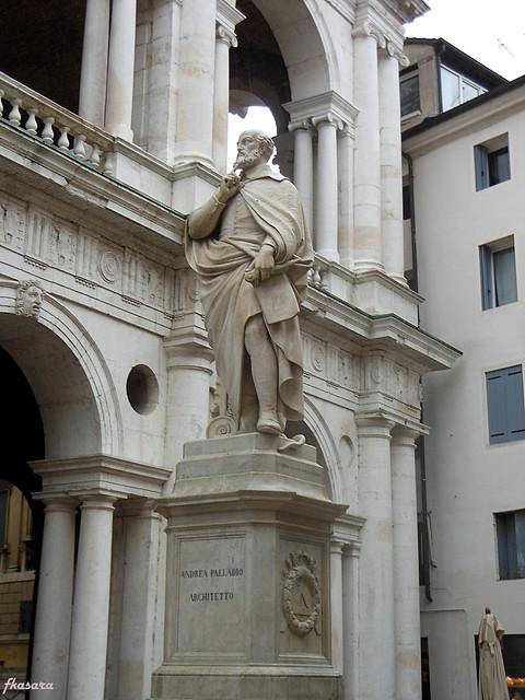 Palladio Statue in Vicenza