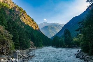 Parvati River from Campsite