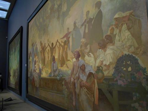 「ミュシャ展」国立新美術館