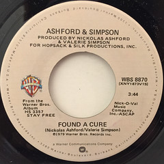 ASHFORD & SIMPSON:FOUND A CURE(LABEL SIDE-A)