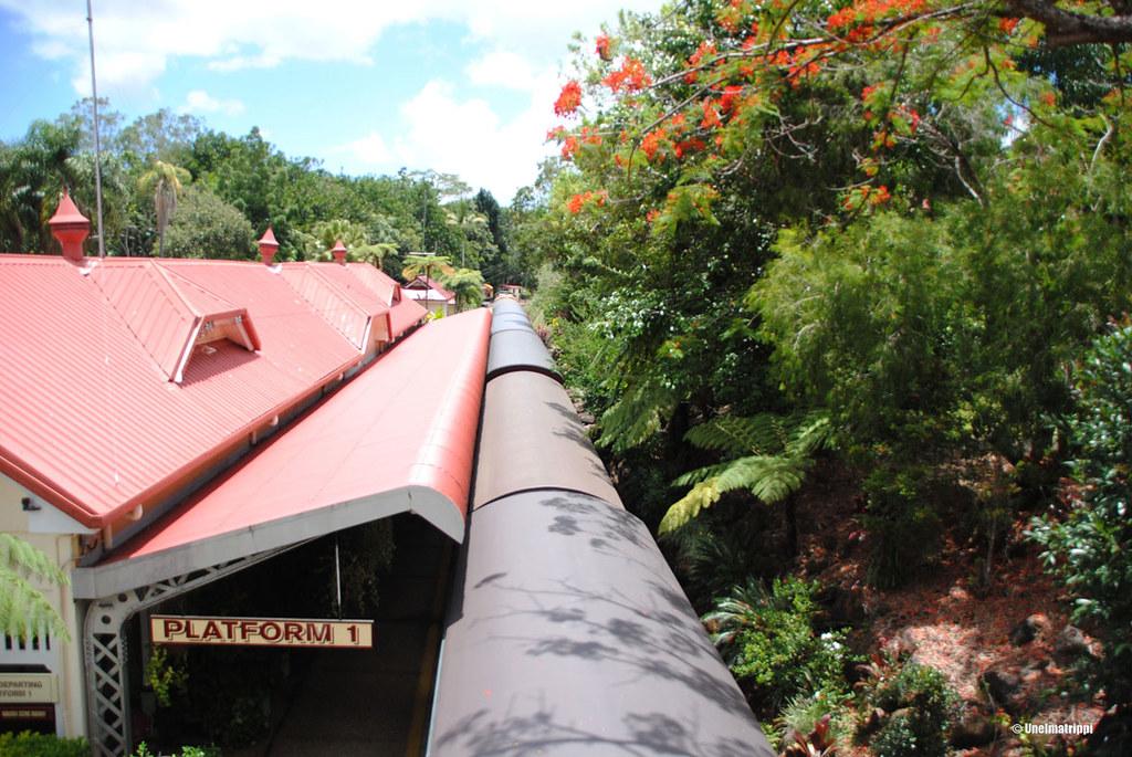 Kurandan juna-asema, Australia
