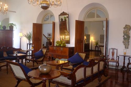 Sri lanka int rieur d 39 une belle maison coloniale de galle flickr for Interieur maison coloniale