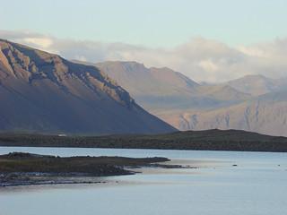 150 Flaajökull via weg 984 uitzicht naar oosten