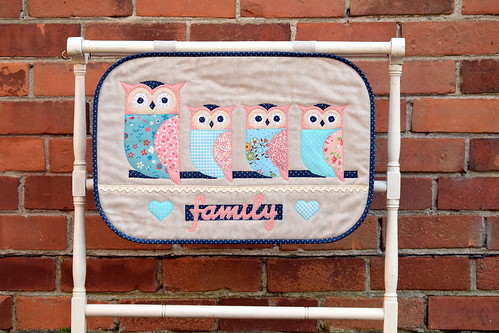 Family of Owls Wallhanging | by Just Jude Designs