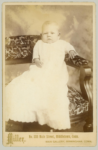 Cabinet Card child on a chair