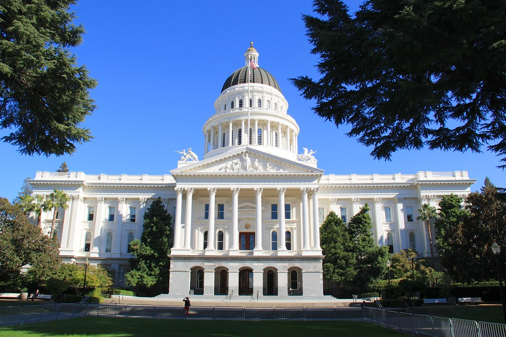 Image result for california state capitol