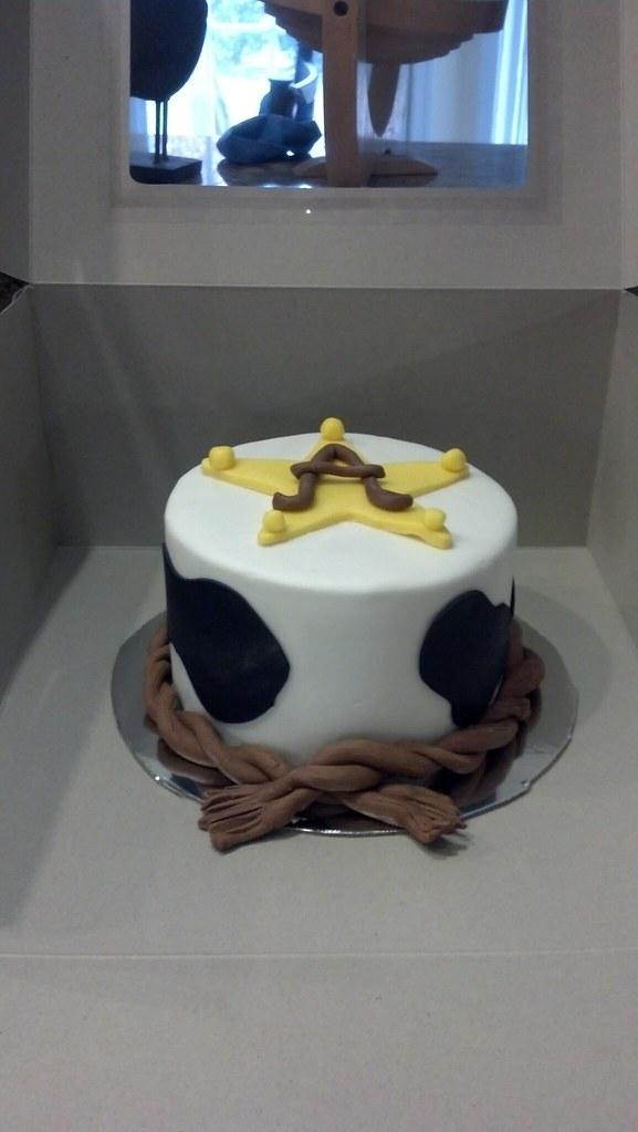 Cowboy 1st Birthday Smash Cake Jpalangi Flickr
