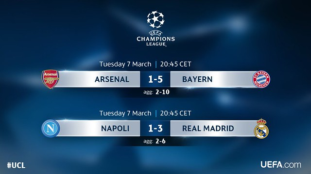 Champions League - Octavos de Final (Vuelta):
