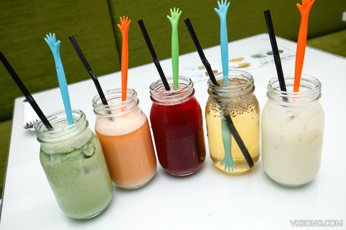 Wellness Recipe 5 colours Juice