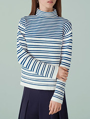 Finery Breton stripe top