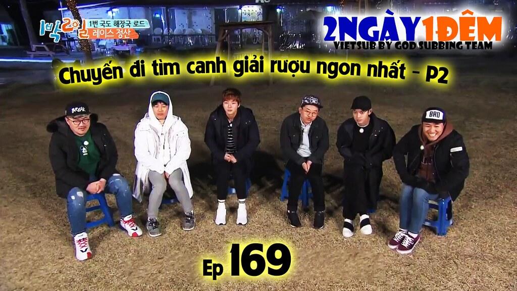 [Vietsub] 2 Days 1 Night Season 3 Tập 169