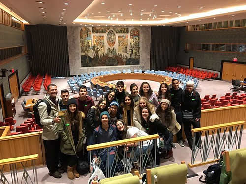 Missão NY - Visita ONU