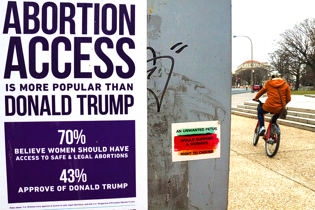 ABORTION ACCESS IS MORE POPULAR THAN DONALD TRUMP--Washington