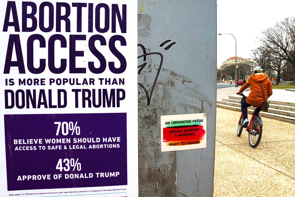 ABORTION ACCESS IS MORE POPULAR THAN DONALD TRUMP--Washington