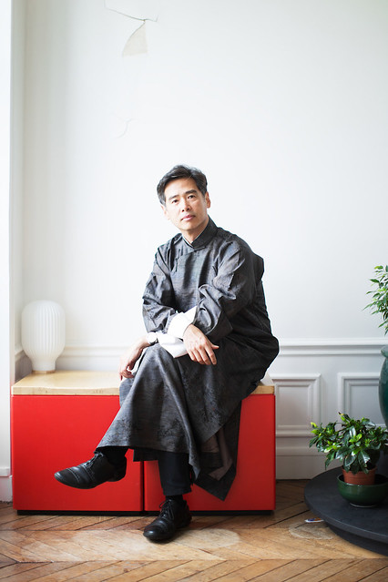Lee Mingwei - Portrait by Matteo Carcelli