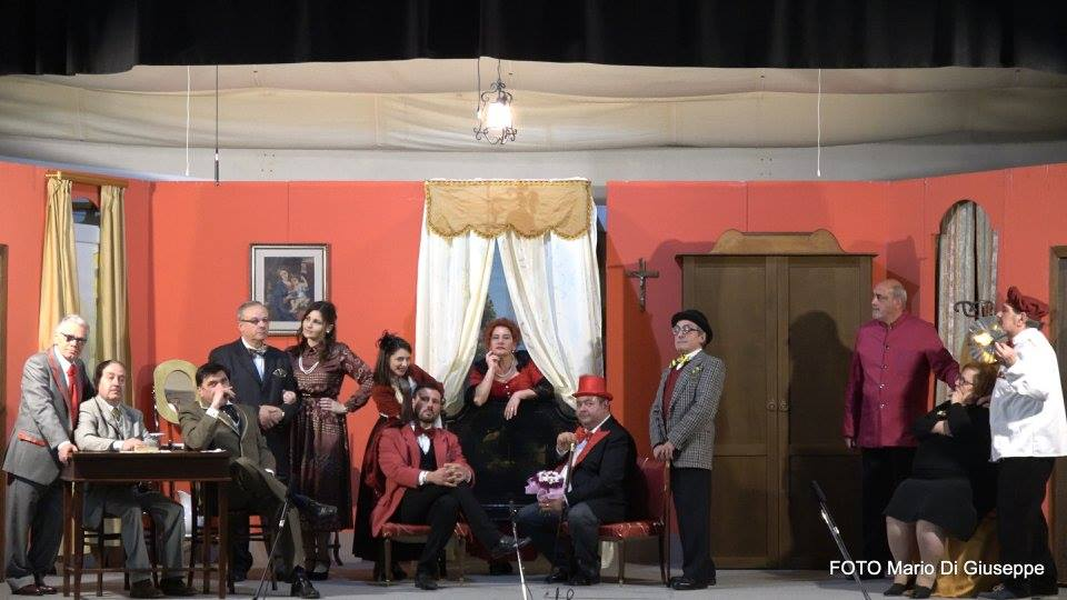 teatro immacolato commedia Gijre e gijre