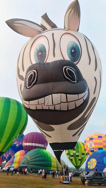 Lubao International Balloon FestivaTravel Philippines Pampanga Summer Duane Bacon Zebra