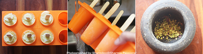 How to make Thandai kulfi recipe - Step6
