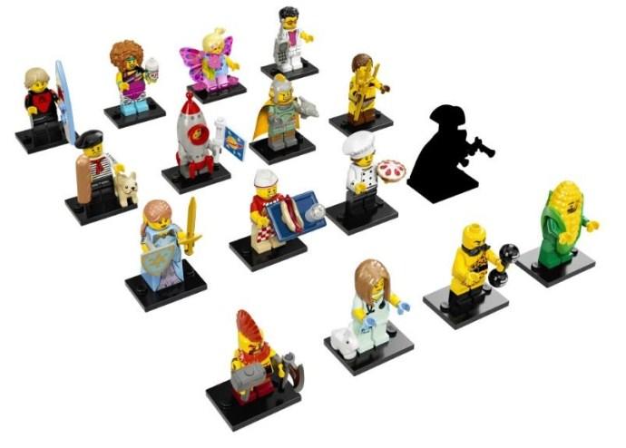 LEGO Minifigure Serie 17