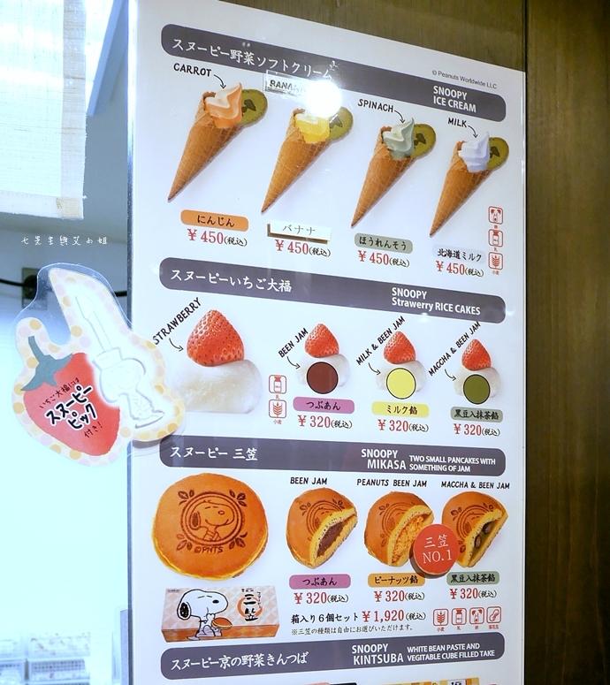 19 日本京都 錦市場 史努比茶屋 スヌーピー茶屋