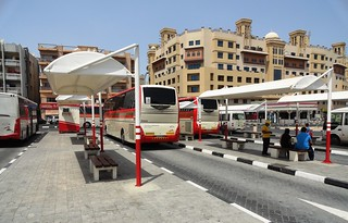 Bur Dubai Bus Station | by travelourplanet.com