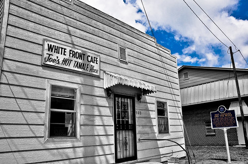 white front cafe joe s hot tamale place rosedale missis