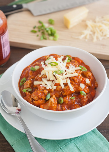 Buffalo Chicken Chili | by Tracey's Culinary Adventures