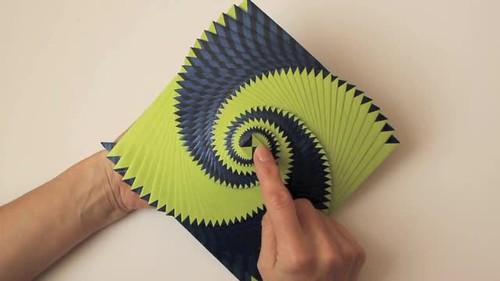 Curlicue Video Curlicue Kinetic Origami Isbn 10 14942349 Flickr