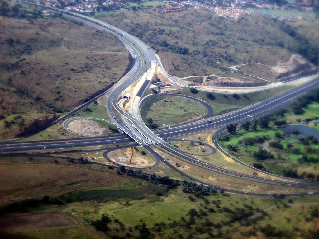 Gauteng Freeway Improvement Project Reading Interchange N12 X N59 By Jean
