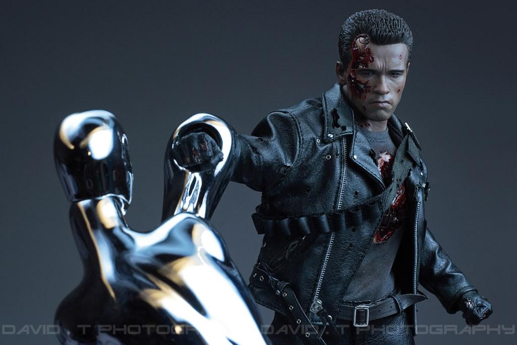 Hot Toys 1 6 Dx13 T 800 Battle Damaged Terminator 2 Flickr