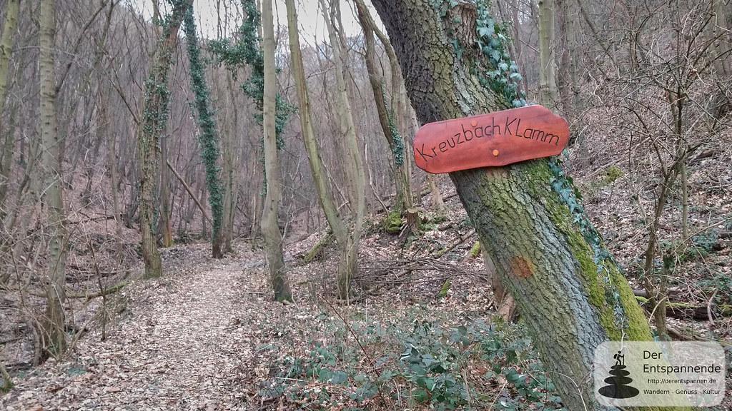 Kreuzbachklamm im Binger Stadtwald
