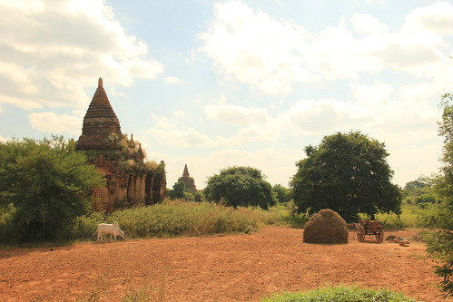 Bagan's southern plains