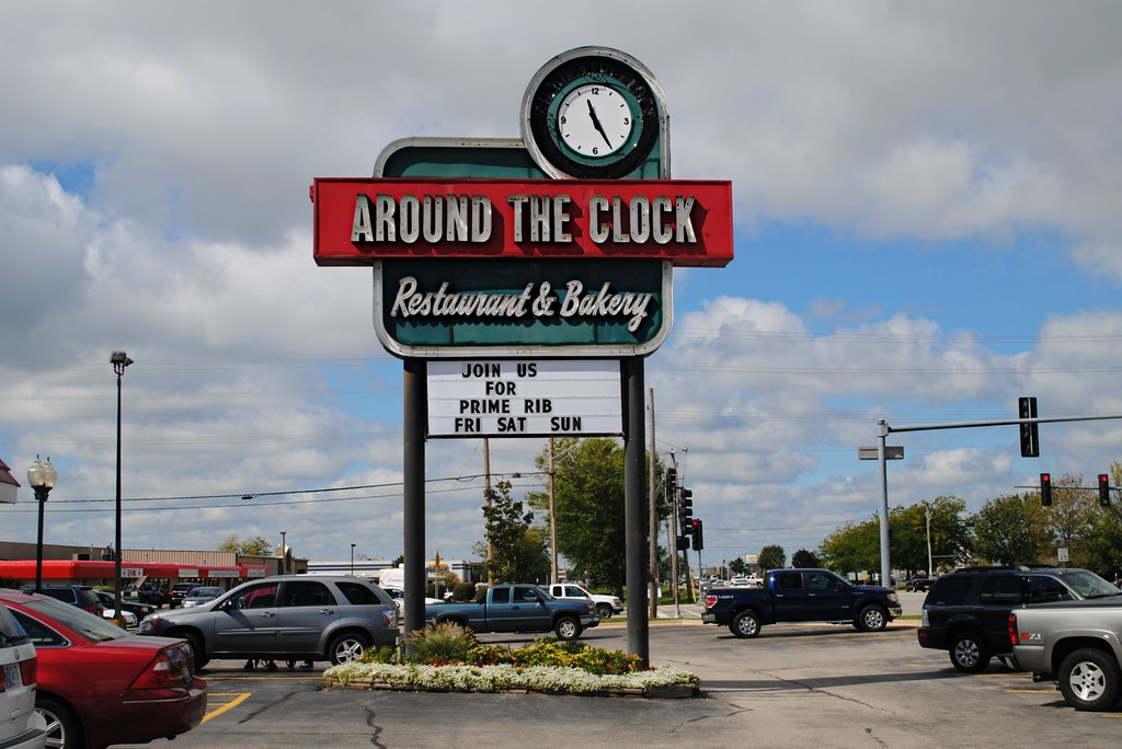 Around The Clock Restaurant 5011 Northwest Hwy Crystal La Flickr