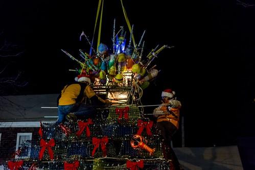 J C Lobster Pot Lobster Pot Tree Light...