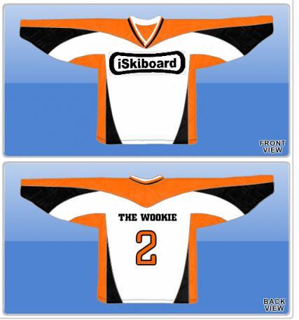 Wookie -- Skiboard Hockey Jersey