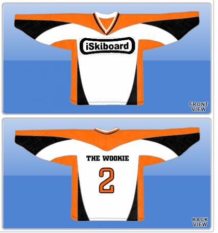 Wookie -- Skiboard Hockey Jersey